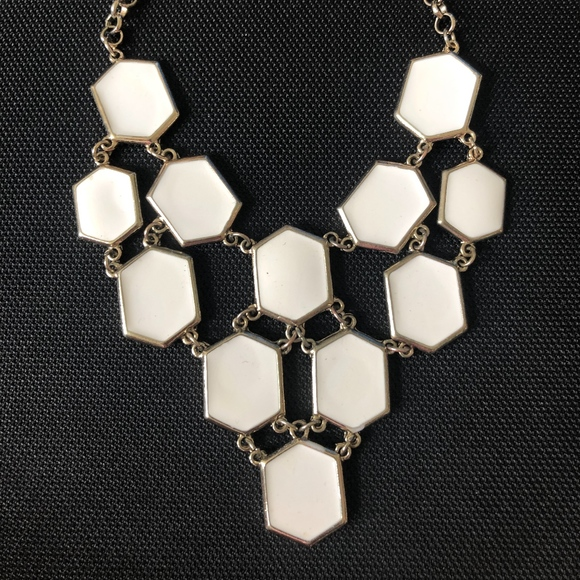 Francesca's Collections Jewelry - White Gold Necklace